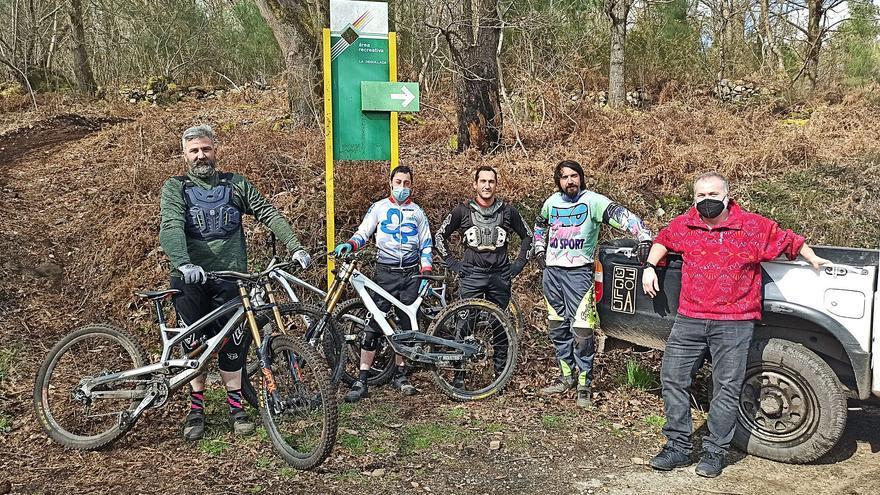 La Degollada, un paraíso ciclista en Candamo