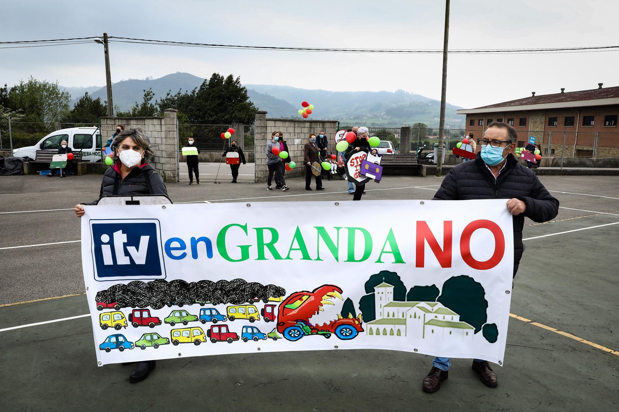 Nueva concentración en Granda contra la ITV