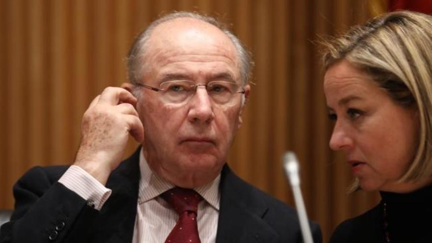 El juez rechaza juzgar a Rato por comisiones en la publicidad de Bankia