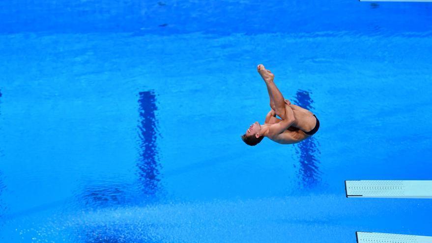Nicolás García Boissier, reserva para la semifinal de trampolín de 3 metros