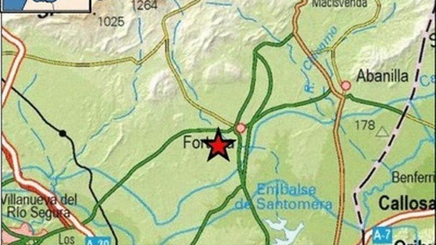 Un terremoto de 3,6 sacude Fortuna y hace temblar gran parte de la Región