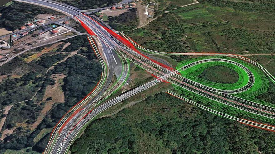 La Xunta liga 4 millones en 2021 y 16 los dos siguientes a prolongar la autovía hasta Vea