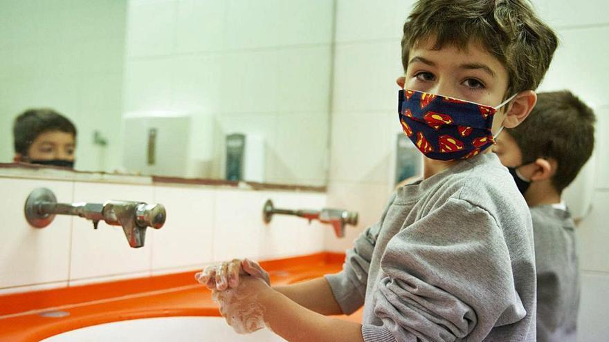 Un dia a l'escola en pandèmia d'un projecte segur que no s'atura