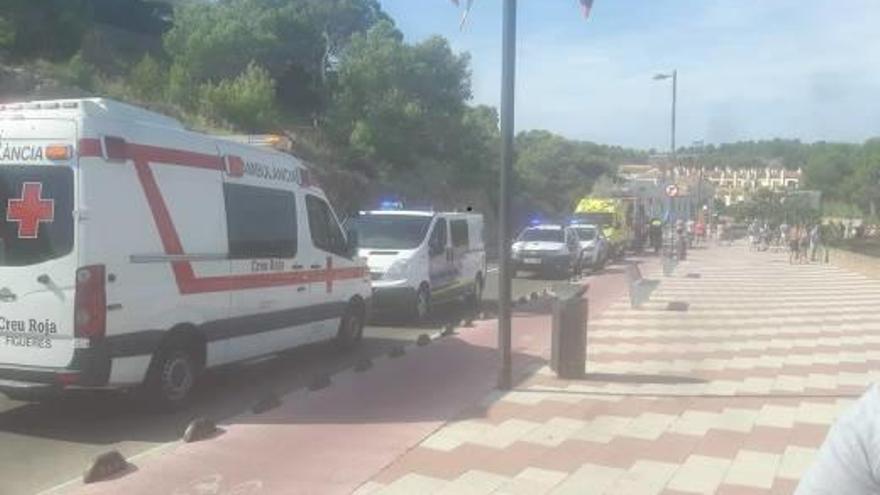 Mor un home de 72 anys ofegat a la platja del Rec del Molí de l'Escala