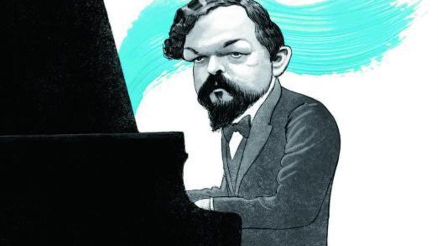 Debussy, pintar la música