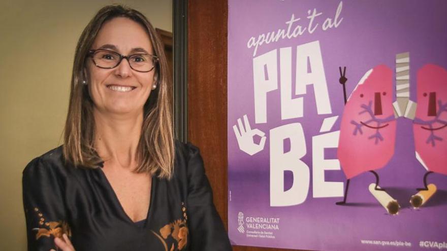 Clara Pastor Navarro: «No se ha bajado la guardia con la legionela y la prueba es que está perfectamente controlada»