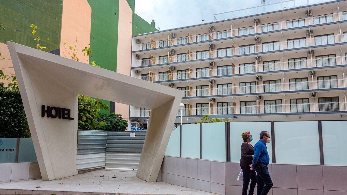 Hotel cerrado en Benidorm