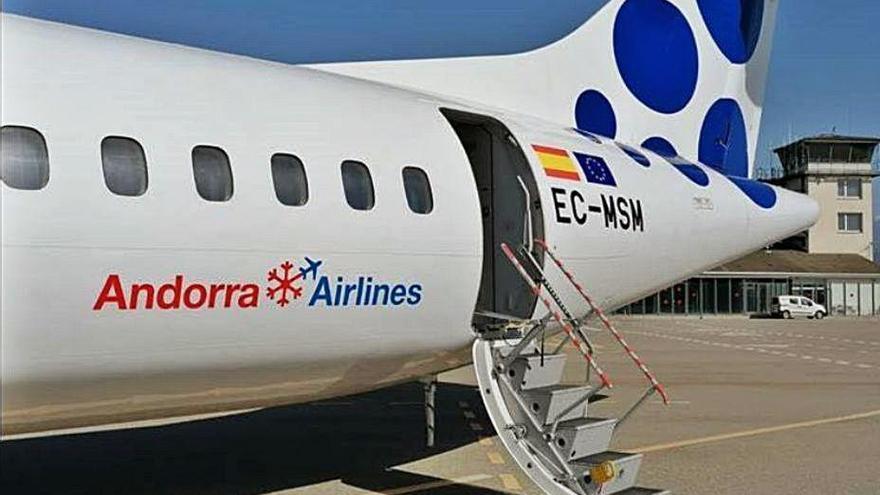 Andorra Airlines anuncia vuelos regulares con Palma