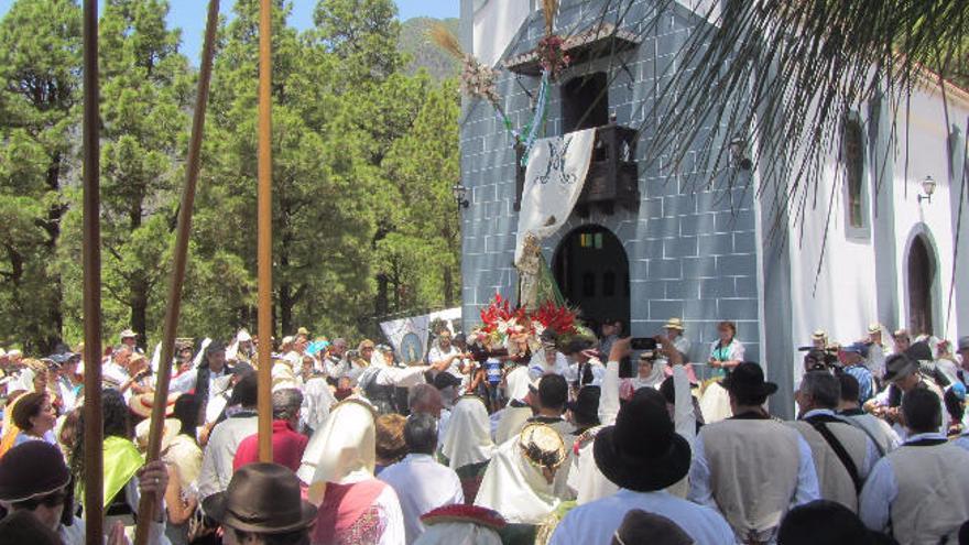 Las otras imágenes  de la Virgen del Pino