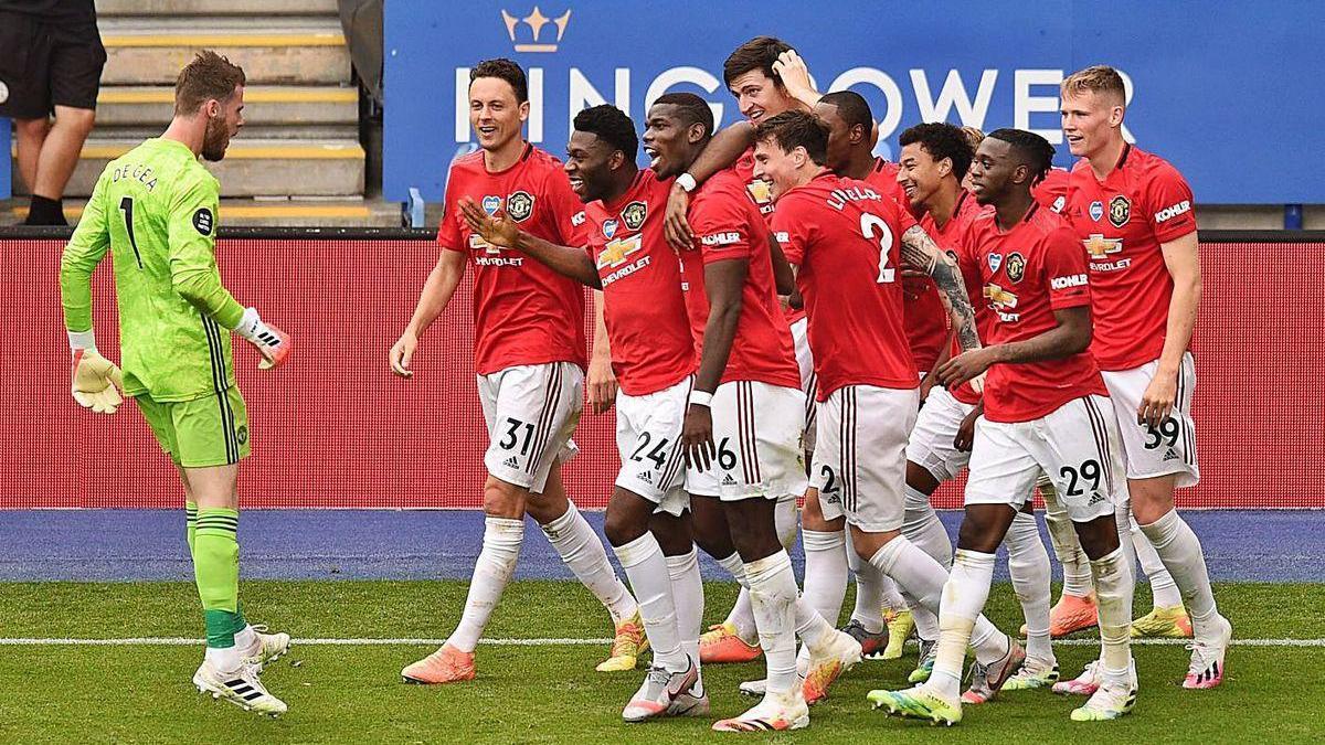 El Manchester United se mete en la Champions