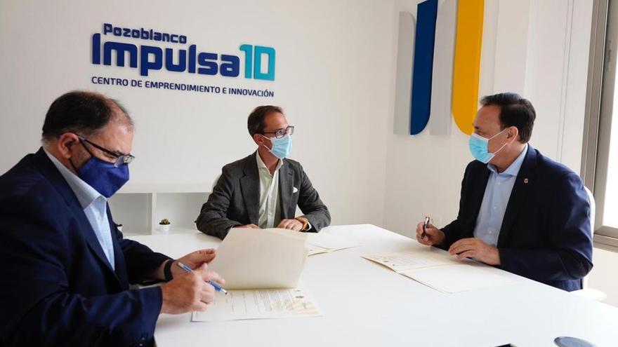 Empresarios y emprendedores de Pozoblanco recibirán formación en el centro Impulsa 10