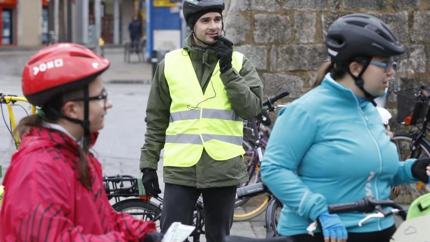Girona ja ha posat prop de 200 multes  als ciclistes que circulen per la vorera