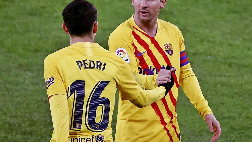 Messi amarga el debut de Marcelino
