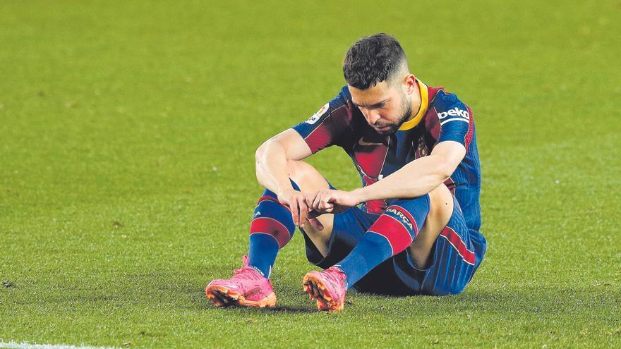 Jordi Alba también se rebaja el sueldo en el Barcelona