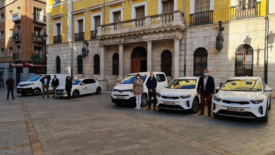 El Ayuntamiento de Teruel renueva varios vehículos en diversos servicios