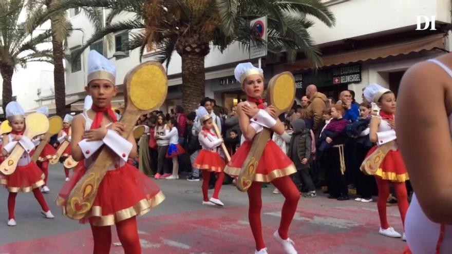 Rúa de Carnaval en Santa Eulària (2017)