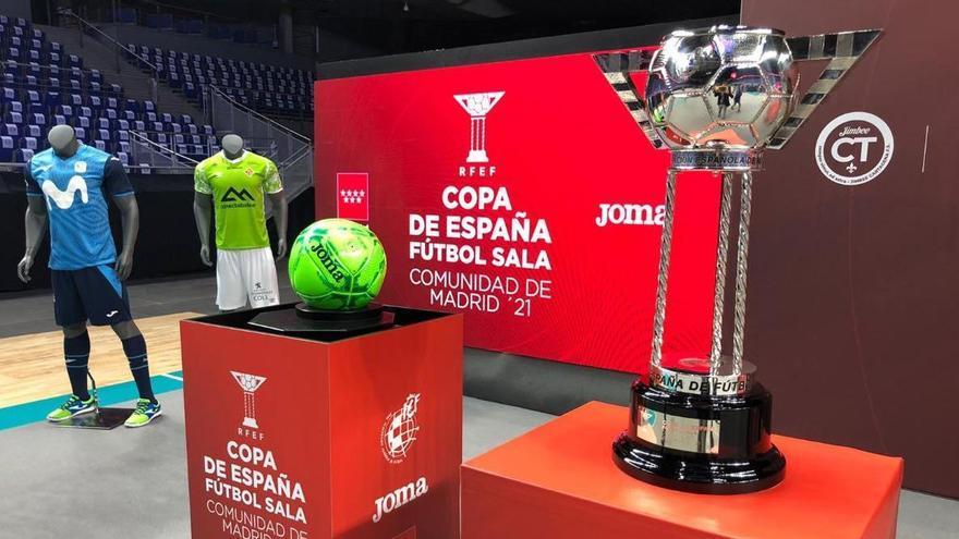 El Palma Futsal vuelve a enfrentarse al Movistar Inter en la Copa de España