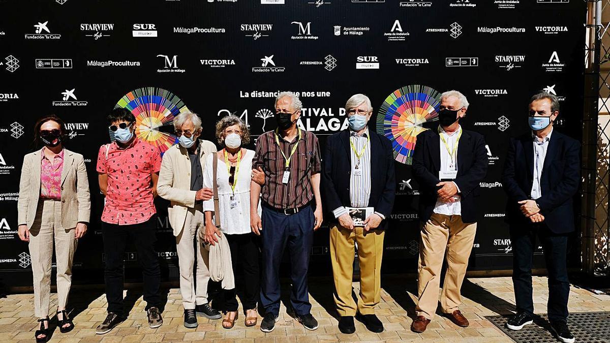 El Albéniz acogió la proyección de Esa pareja feliz, la Película de Oro del Festival, con unos invitados muy especiales.
