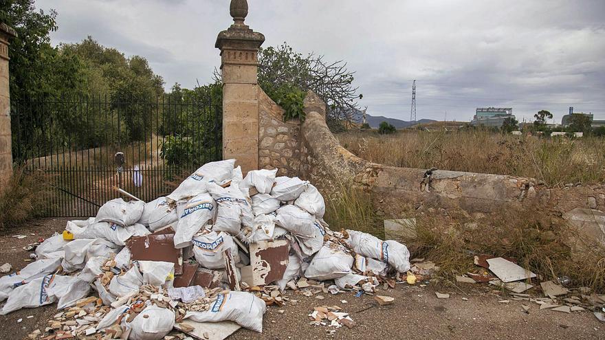 Palma duplica la cantidad de escombros recogidos en vertederos ilegales
