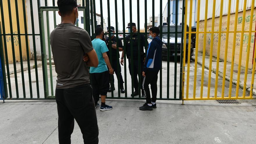 Andalucía acoge a trece menores de Ceuta