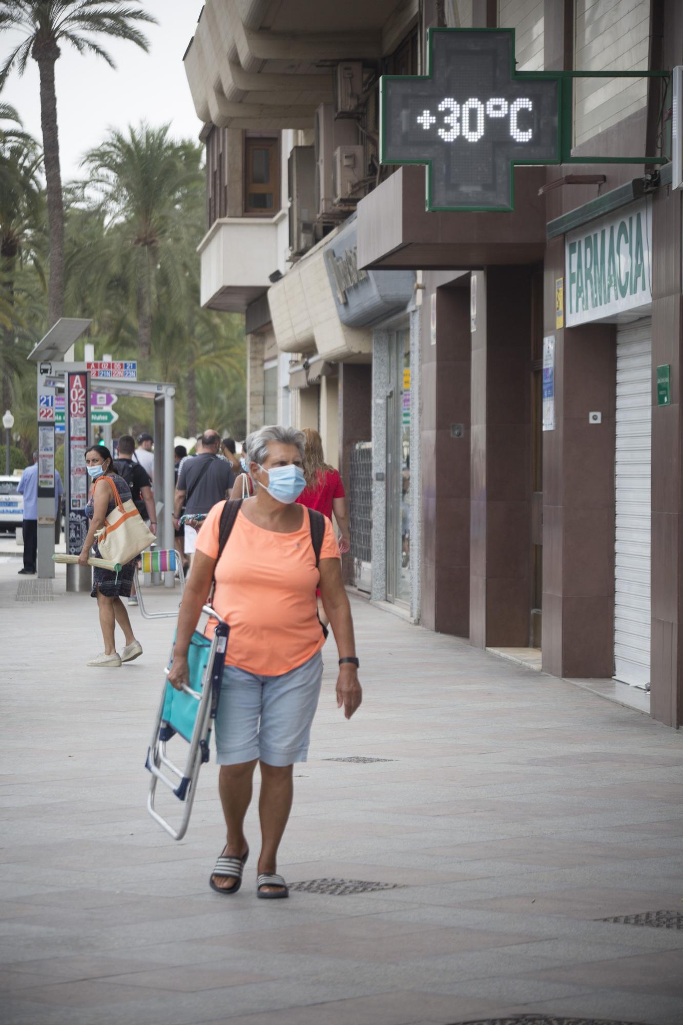 Ola de calor en Alicante
