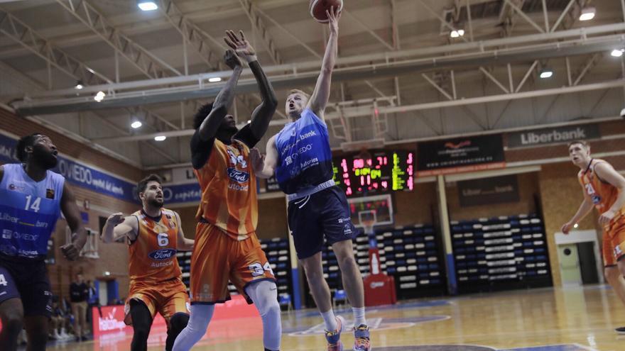 El Liberbank Oviedo Baloncesto gana por 90-73 al Tizona Burgos