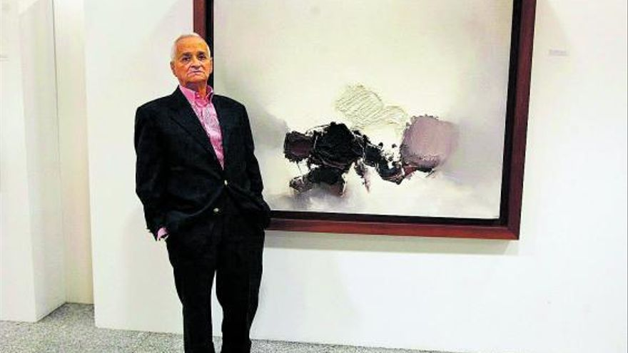 Muere el pintor Luis Feito, miembro  del grupo El Paso con Chirino y Millares