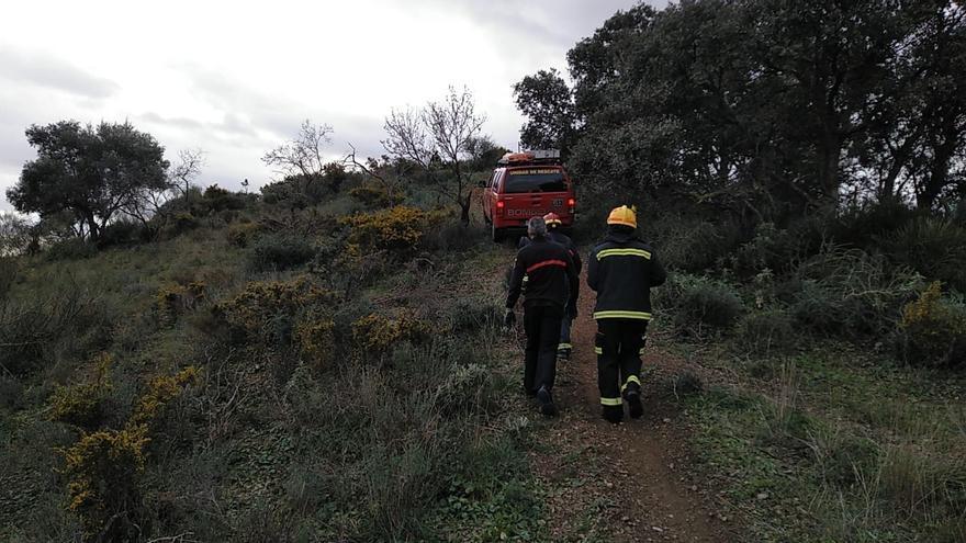 Rescatado un ciclista accidentado en el Puerto de la Torre