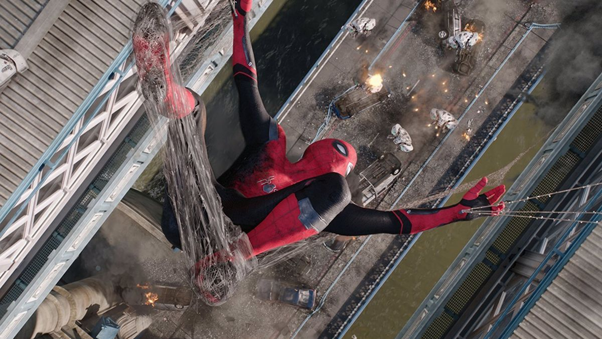 Una imagen de la saga de Spider-man.