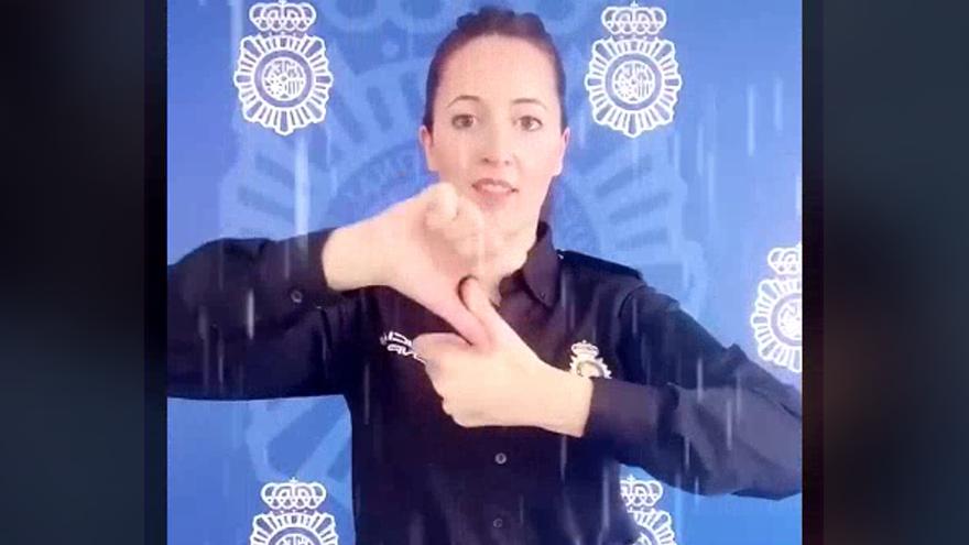 La Policía Nacional, estrella de TikTok