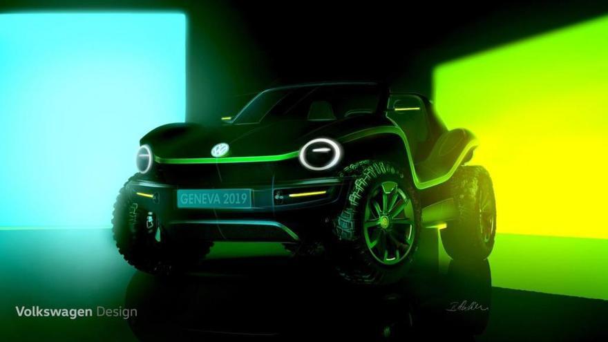 Volkswagen presentará un nuevo buggy eléctrico en Ginebra