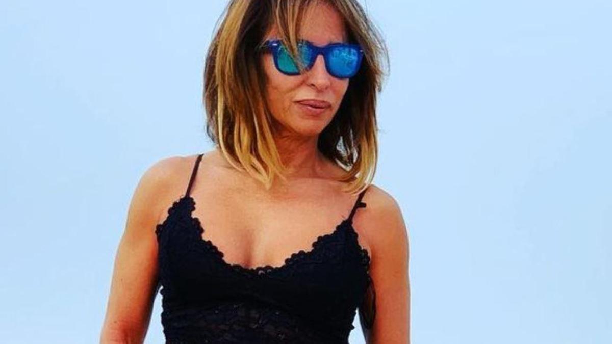 María Patiño posa en sus vacaciones y presume de cuerpo