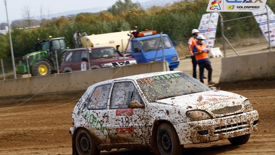 Iván Cordero sube al podio en el Campeonato de España de Autocross