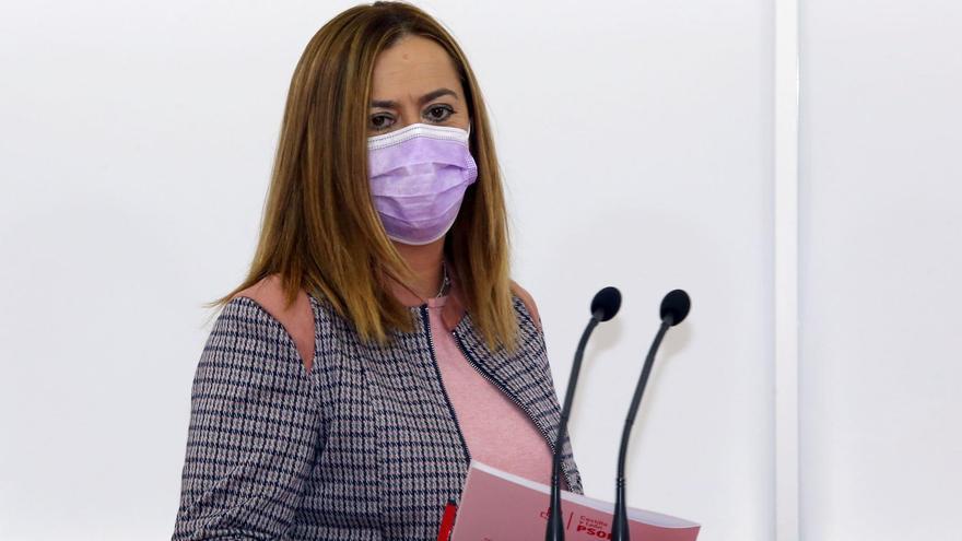 La vicesecretaria general del PSOECyL, Virginia Barcones.