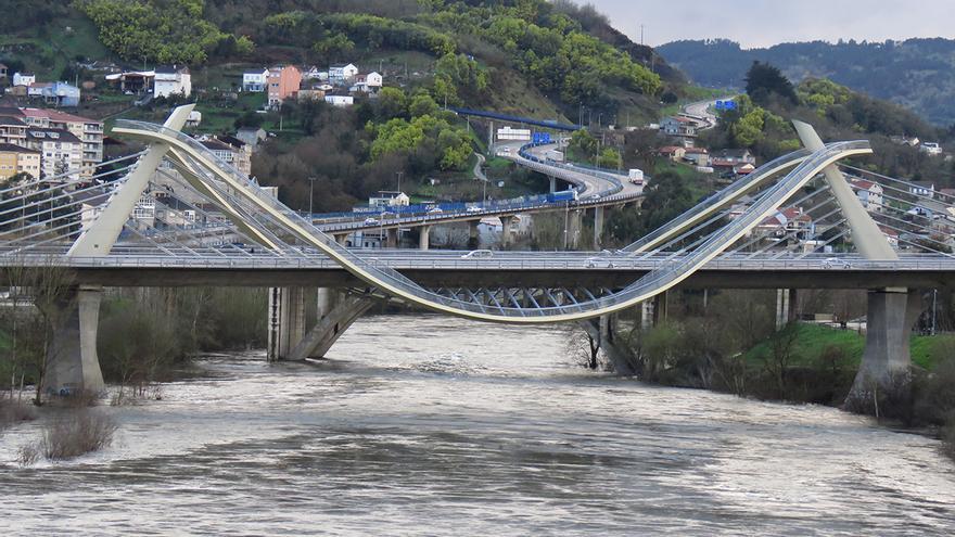 El mapa del riesgo de inundaciones en Galicia