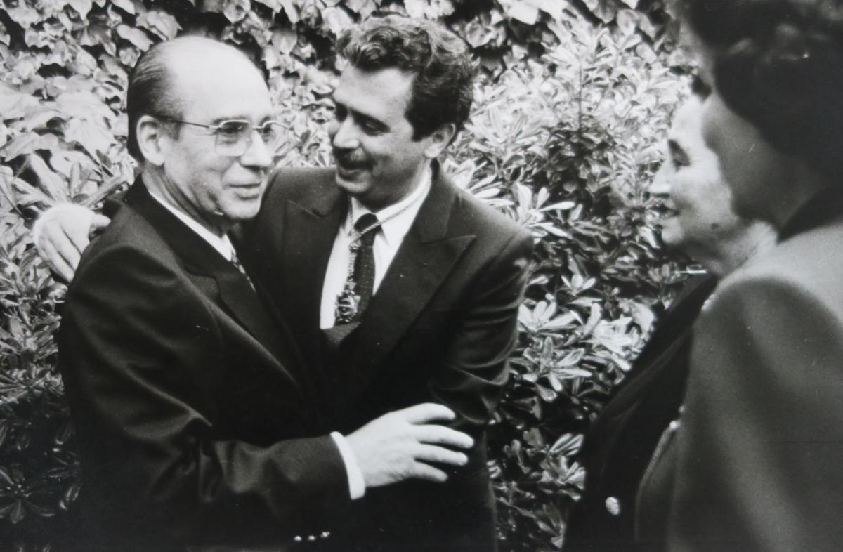 La trayectoria de José García Marín en imágenes