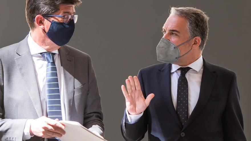 PP y Cs blindan su Gobierno contra una moción de censura y frenan el trasvase de políticos