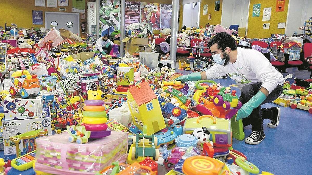 El ahorro de 3.000 kilos de juguetes