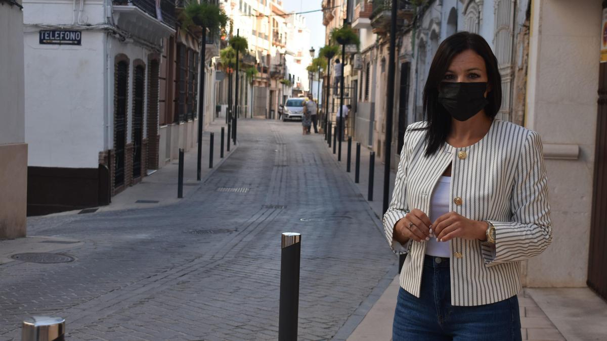 La concejala de Medio Ambiente de Puente Genil, Verónica Morillo.