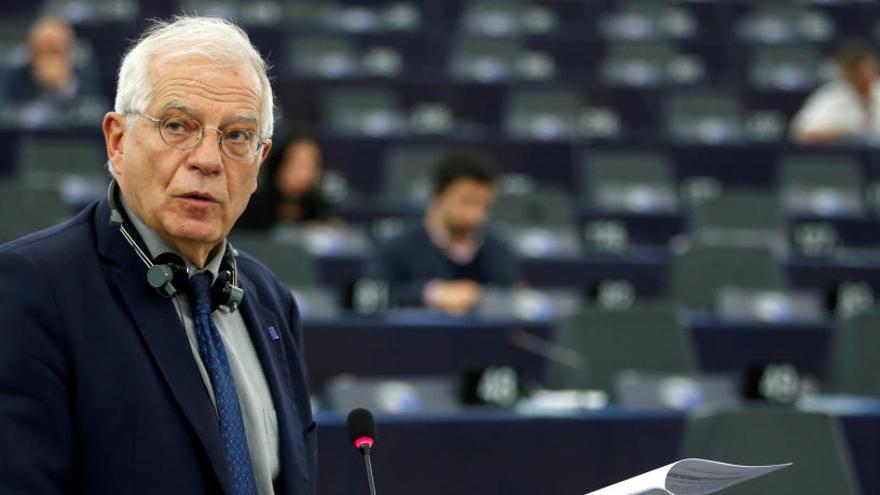 Borrell dice que la CE no puede actuar contra España