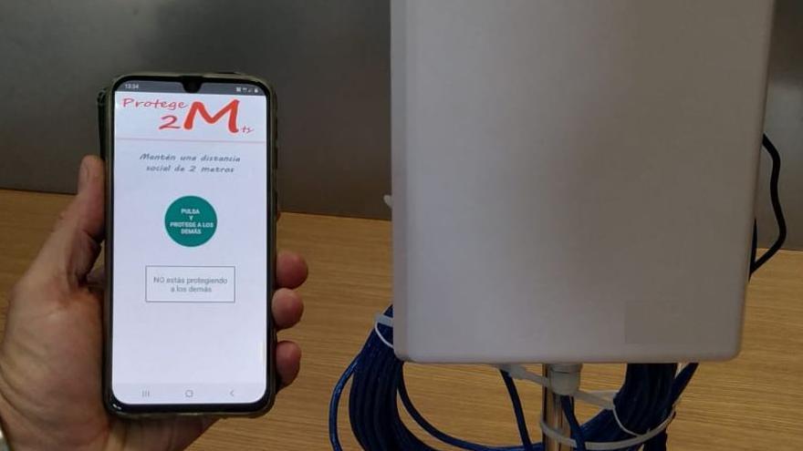 Una app de la Universidad de Alicante detecta aglomeraciones para evitar contagios