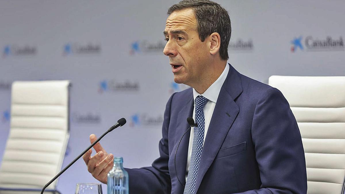 El conseller delegat de l'entitat, Gonzalo Cortázar. | EUROPA PRESS