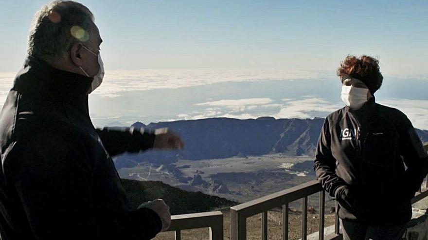 'ConCiencia Canaria' muestra cómo se predicen las erupciones