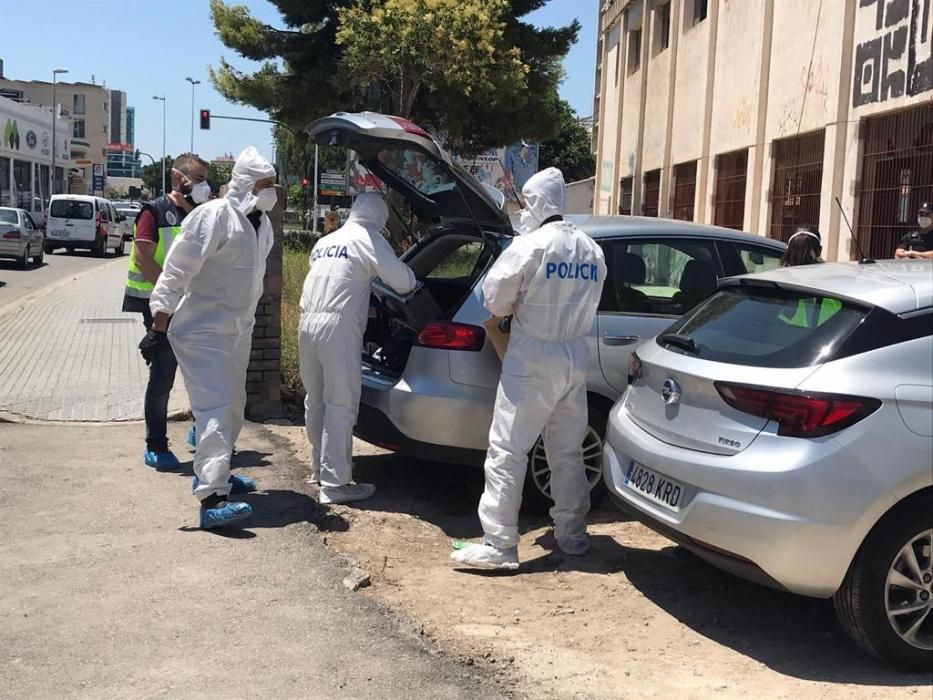 Hallan un cadáver en descomposición en Murcia
