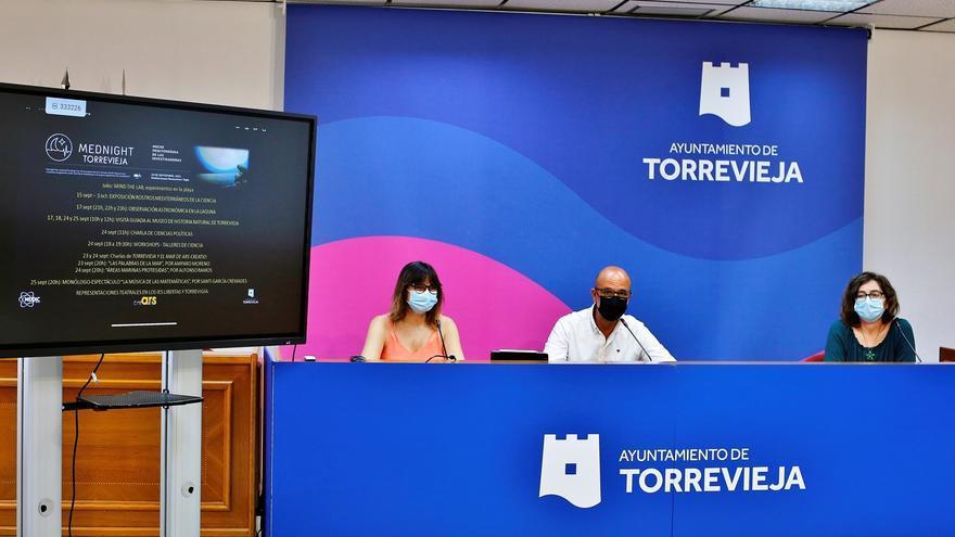 Torrevieja y Orihuela diseñan una amplia oferta de actos en torno a la Noche Mediterránea de las Investigadoras