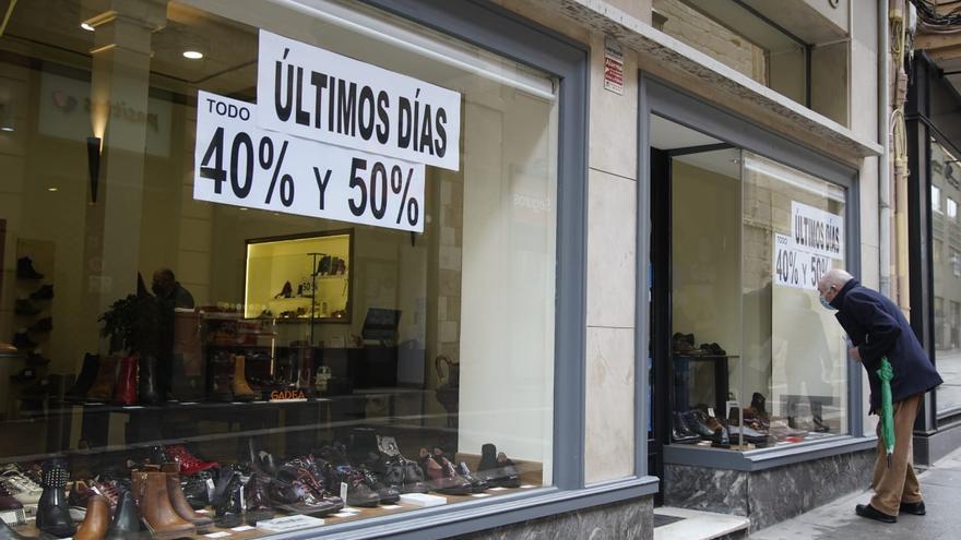 """El comercio de Zamora cierra las rebajas con unas ventas """"mínimas"""" y pide ayuda urgente"""