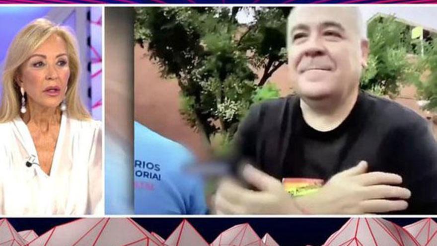 """Carmen Lomana compara a Antonio Ferreras con un """"chimpancé"""""""