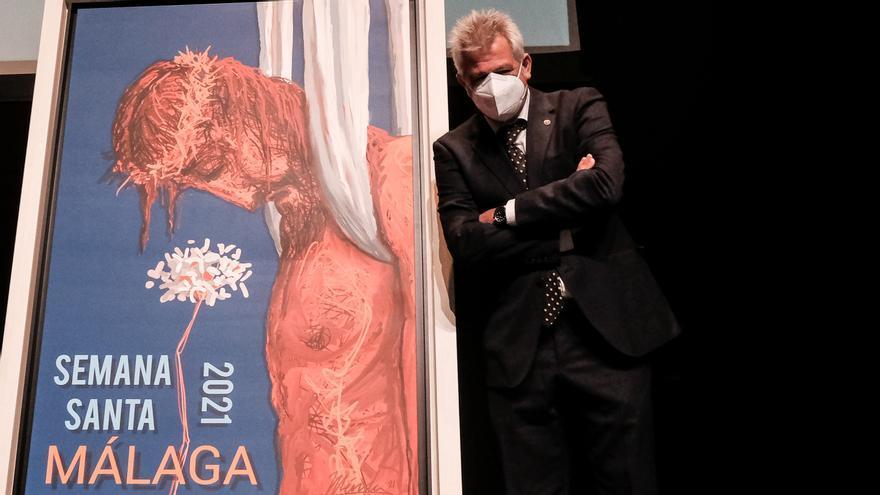 Proceso creativo del cartel de la Semana Santa de Málaga de 2021