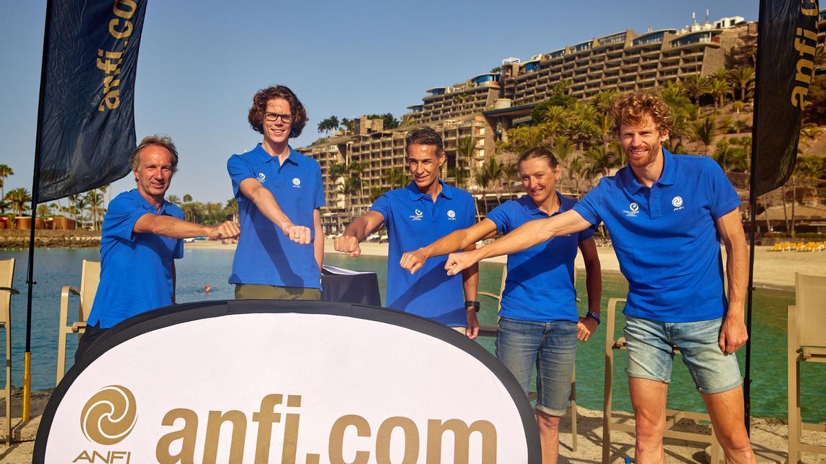 Anfi sella una alianza con 'Challenge Family' para consolidarse como destino de deporte
