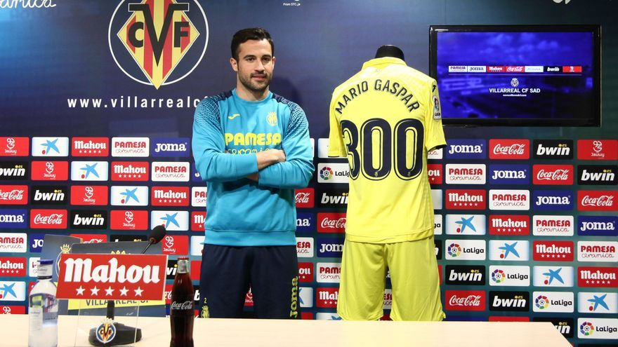 Mario Gaspar se convierte en el hombre récord del Villarreal en Primera División